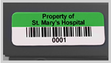 Barcode Asset Labels